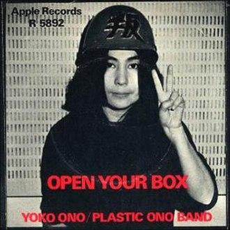 Open Your Box - Image: Yoko Ono Open Box 71