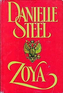 <i>Zoya</i> (novel) romance novel by American Danielle Steel