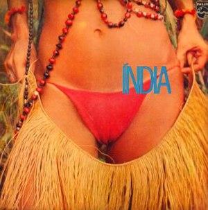 Índia (Gal Costa album) - Image: Índia cover art