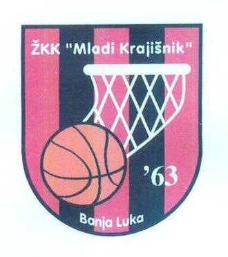 ŽKK Mladi Krajišnik - Image: ŽKK Mladi Krajišnik logo