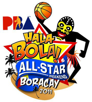 2011 PBA All-Star Weekend - Image: 2011 PBA All Star Game logo