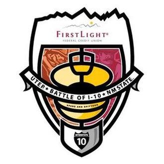 Battle of I-10 - Image: 2014 Battle of I 10 logo