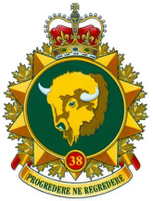 38 Canadian Brigade Group - Image: 38 Canadian Brigade Group (logo)