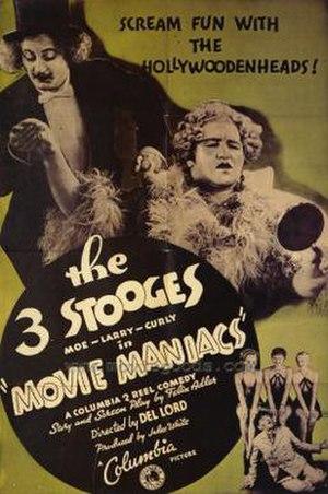 Movie Maniacs - Image: 3stoogesmoviemaniacs 36