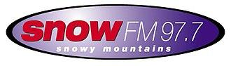 Snow FM - Image: 977Snow F Mlogo