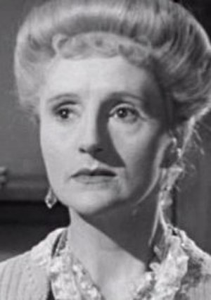 Joyce Carey - Carey as Myrtle in Brief Encounter, 1945