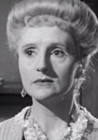 Joyce Carey - Carey as Myrtle in Brief Encounter, 1945