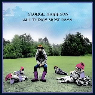 Album artwork of the 2001 re-release of All Things Must Pass