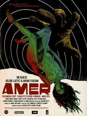 Amer (film) - Official promotional poster