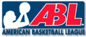 American Basketball League (1996–98) - Image: American Basketball League (1996–1998) (logo)