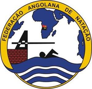 Angolan Swimming Federation - Image: Angolan Swimming Federation logo