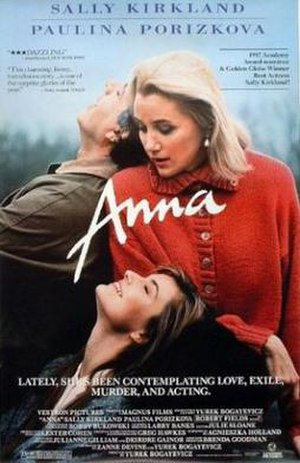 Anna (1987 film) - Promotional theatrical poster