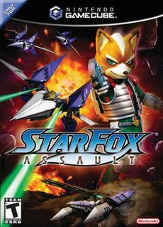 <i>Star Fox: Assault</i> 2005 video game