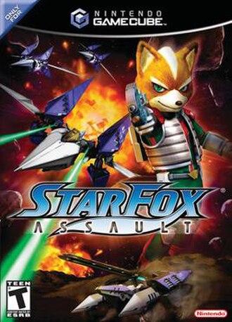 Star Fox: Assault - North American box art