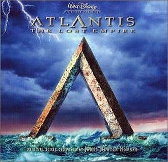 Atlantis: The Lost Empire (soundtrack) - Image: Atlantissoundtrackco ver