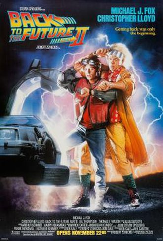 Back to the Future Part II - Original theatrical poster by Drew Struzan