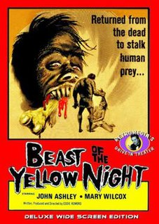 <i>Beast of the Yellow Night</i> 1971 film directed by Eddie Romero