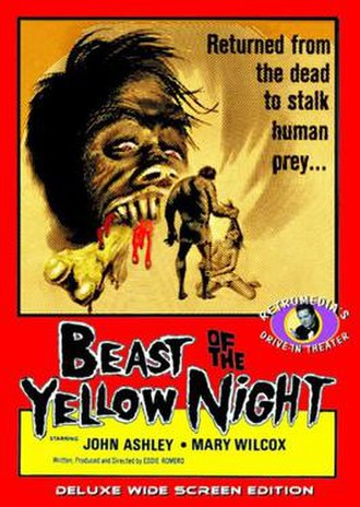 Beast of the Yellow Night - Theatrical release poster