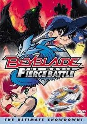 Beyblade: Fierce Battle - US DVD Cover