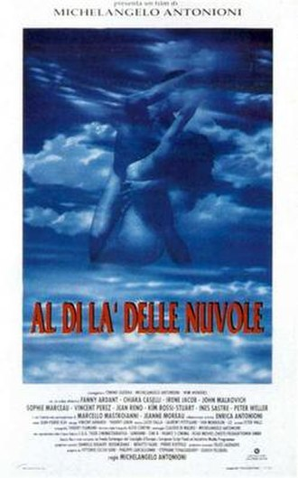 Beyond the Clouds (1995 film) - Italian theatrical release poster