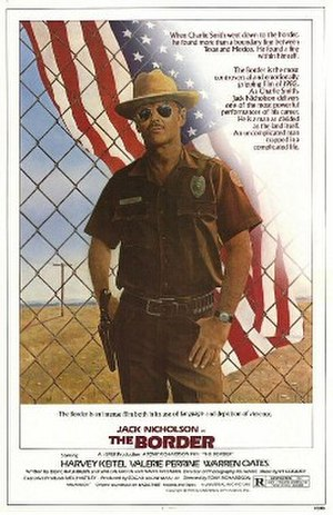 The Border (1982 film) - Theatrical release poster