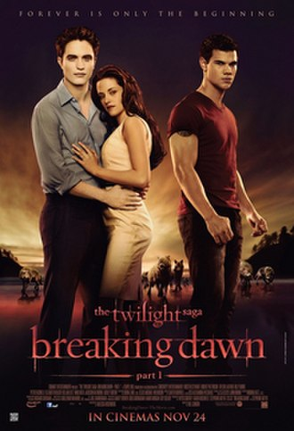 The Twilight Saga: Breaking Dawn – Part 1 - Theatrical release poster