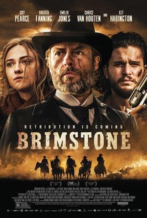 Brimstone (film) - USA release poster