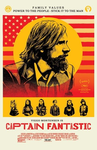 Captain Fantastic (film) - Theatrical release poster