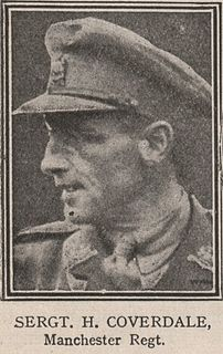 Charles Harry Coverdale Recipient of the Victoria Cross