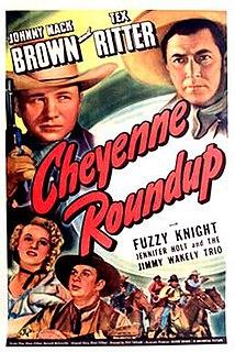 <i>Cheyenne Roundup</i> 1943 film by Ray Taylor