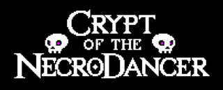 <i>Crypt of the NecroDancer</i> action video game developed by Brace Yourself Games for Linux and macOS in 2014, Microsoft Windows in 2015, iOS, Playstation 4 and PS VIta in 2016, Xbox One in 2017 and Nintendo Switch in 2018