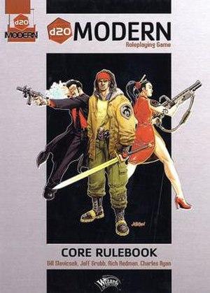 D20 Modern - Image: D20 Modern Book Cover