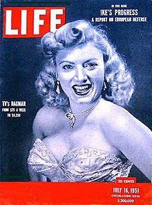 Dagmar (American actress) - Wikipedia