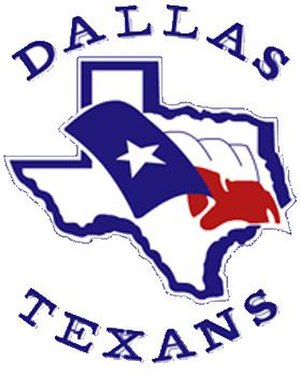 Dallas Texans (Arena) - Image: Dallastexans