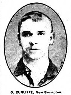Dan Cunliffe English footballer