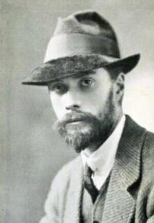 Darrell Figgis - 1924 portrait of Figgs