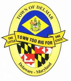 Delmar, Maryland - Image: Delmar DEM Dlogo