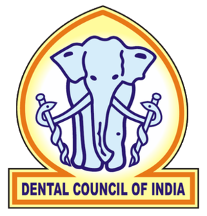 Dental Council of India - Image: Dental Council of India logo