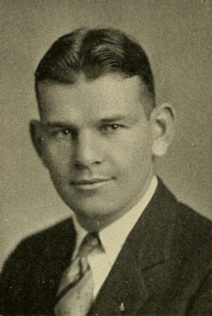 Dinny McNamara - McNamara pictured in Sub Turri 1927, Boston College yearbook