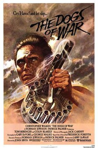 The Dogs of War (film) - Theatrical release poster by Tom Jung