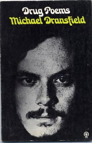 Michael Dransfield - Michael Dransfield ca. 1972, pictured on the cover of Drug Poems