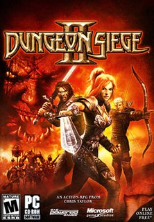<i>Dungeon Siege II</i> 2005 video game