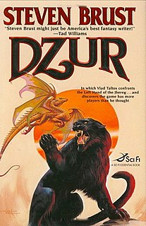 <i>Dzur</i> (novel) 2007 novel in the Vlad Taltos series by Steven Brust