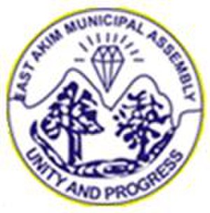 Kibi, Ghana - Image: East Akim Municipal District logo