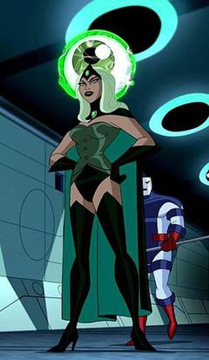Emerald Empress - Sarya in Justice League Unlimited
