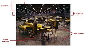 FSAC.1a35291 Assembling B-25 bombers at North American Aviation, Kansas City - problems.jpg