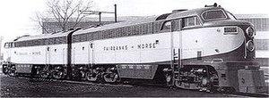 FM Consolidated line - Image: Fairbanks Morse 4802 demonstrator