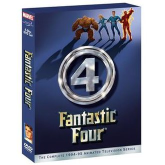 Fantastic Four (1994 TV series) - The cover for the DVD release.