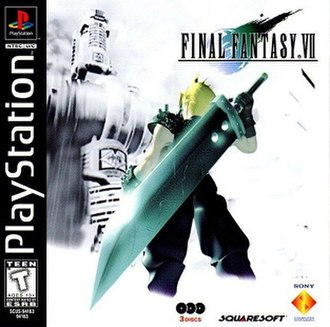 Final Fantasy VII - Image: Final Fantasy VII Box Art