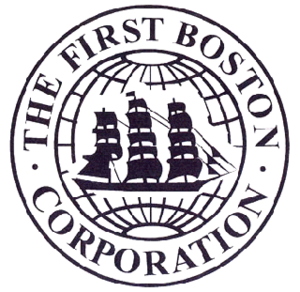 First Boston - First Boston logo